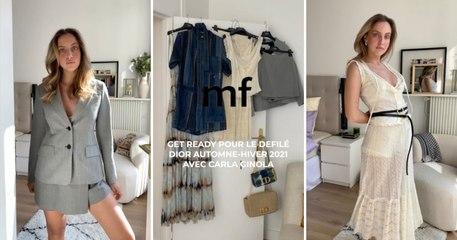 Haul mode et mise en beauté Dior : Carla Ginola nous invite chez elle à Paris