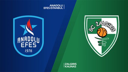 EuroLeague 2020-21 Highlights Regular Season Round 29 video: Efes 89-62 Zalgiris