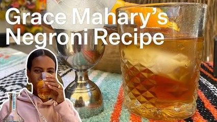 Grace Mahary's Go-To Negroni Recipe