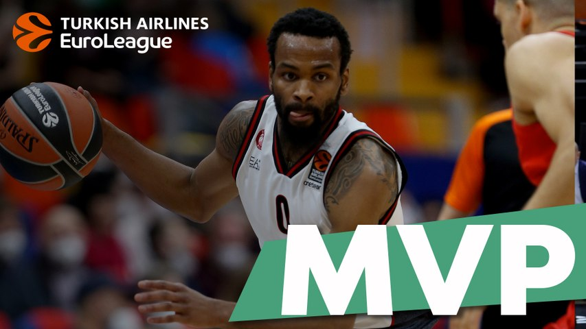 Turkish Airlines EuroLeague co-MVPs of the Week: Kevin Punter & Peyton Siva