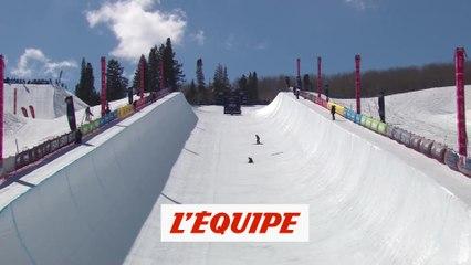 Rolland 8e en halfpipe - Ski freestyle - Mondiaux