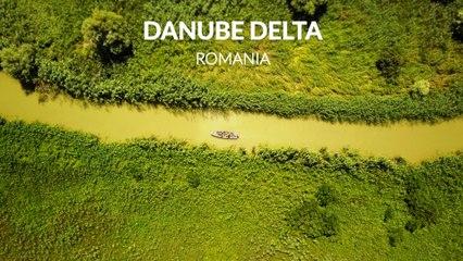Danube Delta in Romania