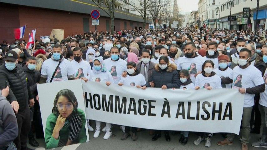 Marche blanche pour Alisha, 14 ans : «j'attends tous les jours que ma fille rentre à la maison»