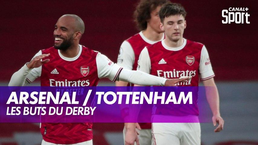 Les buts du derby Arsenal / Tottenham - Premier League J28