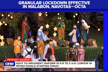 OCTA Research:: Localized lockdowns cause downtrend on COVID-19 cases in Malabon, Navotas