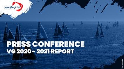 Press conference - Vendée Globe 2020-2021 Report [EN]