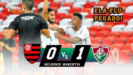 GOLAÇO DECISIVO NO CLÁSSICO   Flamengo 0 x 1 Fluminense   Melhores Momentos   HD 14/03/2021