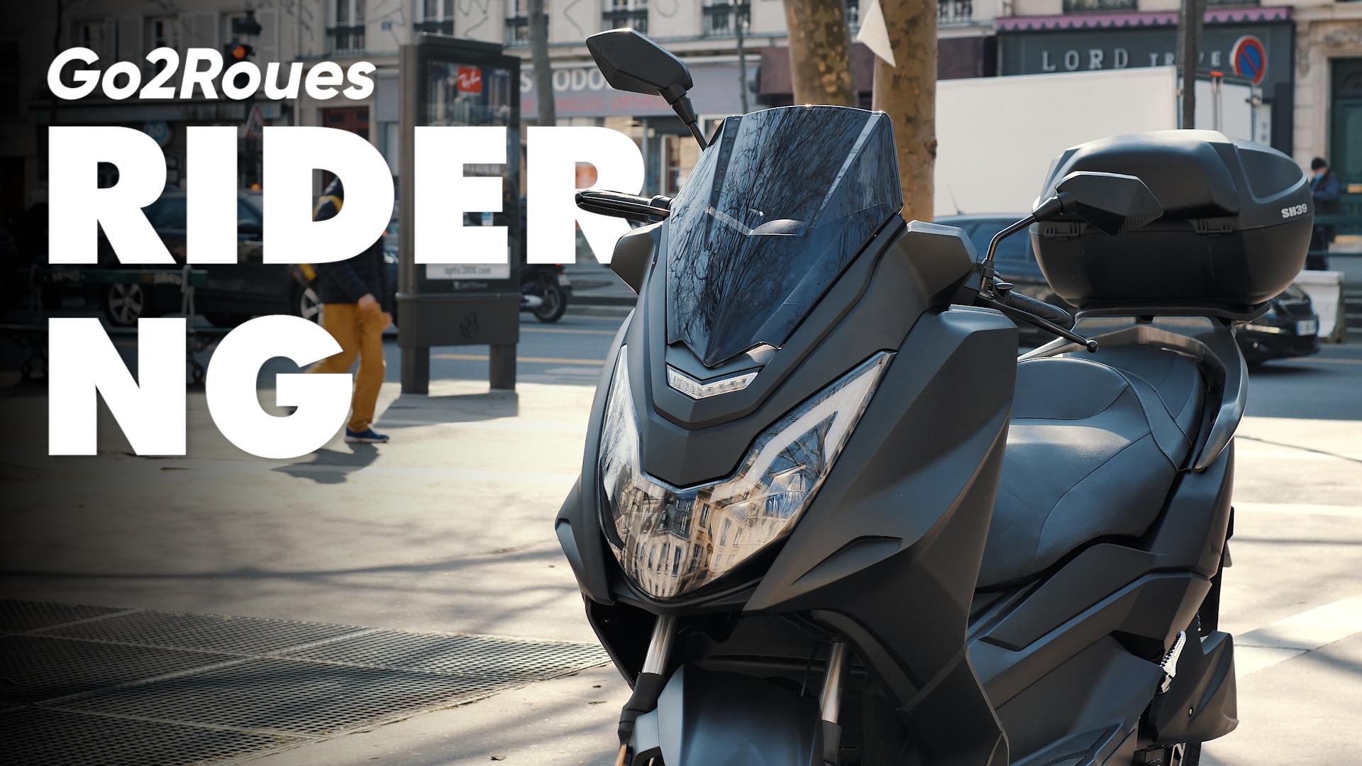 Test du Rider NG : LA nouvelle référence des maxi scooters électriques ?