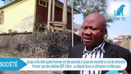 RDC :  12 civils tués à béni