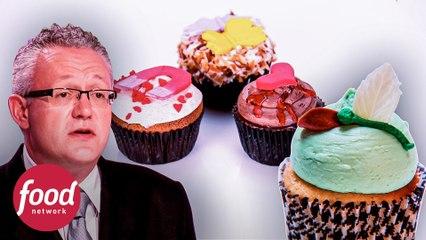 ¡Arriba las copas! Cupcakes con bebidas alcohólicas | Cupcake Wars | Food Network Latinoamérica
