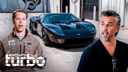 El piloto de NASCAR Brad Keselowski visita el taller | El Dúo mecánico | Discovery Turbo