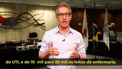 COVID-19: Zema decreta 'onda roxa' para toda Minas Gerais por 15 dias
