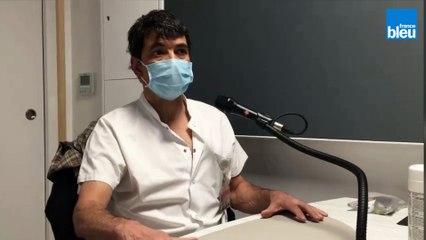 Un an après le confinement : Hugues Aumaître, chef du service des maladies infectieuses à l'hôpital de Perpignan