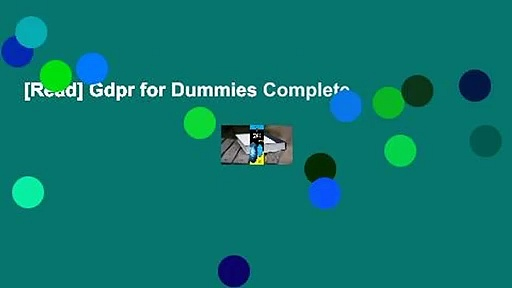 [Read] Gdpr for Dummies Complete