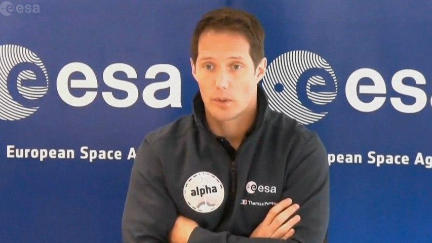 Thomas Pesquet, premier commandant de bord français à bord de la Station spatiale internationale
