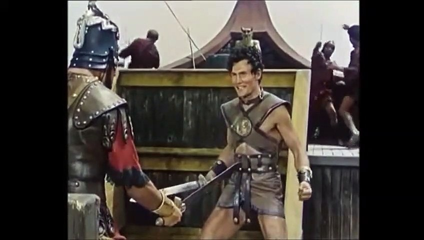 Revak the Rebel Movie (1960) - Clip -  Sword Fight