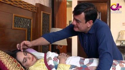 Mujhay Beta Chahiye - Episode 9 | Aplus Dramas | Sabreen Hisbani, Shahood Alvi, Aiza Awan
