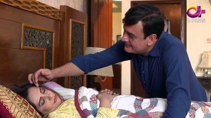 Mujhay Beta Chahiye - Episode 12 | Aplus Dramas | Sabreen Hisbani, Shahood Alvi, Aiza Awan