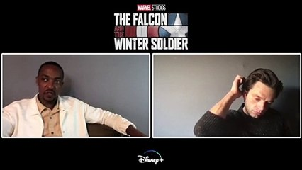 The Falcon and The Winter Soldier Interview - Anthony Mackie and Sebastian Stan