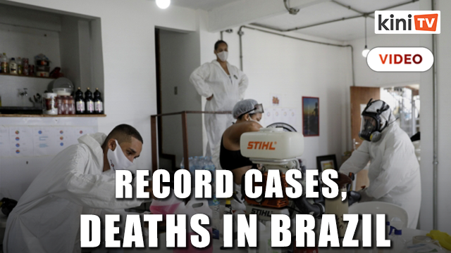 Pandemic accelerates in half of the Americas, Brazil faces record cases, deaths