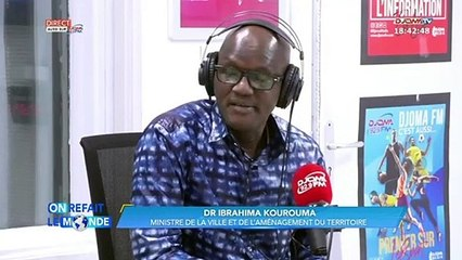 Corniche de la Camayenne (Conakry) : la frappe du ministre Kourouma...