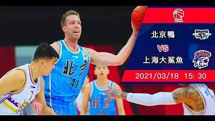 (普)【CBA-賽前新聞】2021-03-18 北京鴨 VS 上海大鯊魚 | 北京鴨欲擒上海大鯊魚