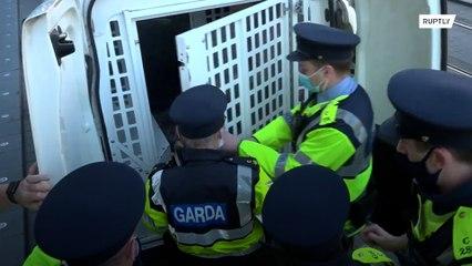 Arrests at St Patrick's Day anti-lockdown protests in Dublin