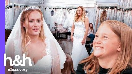 Noiva quer vestido aprovado pela filha pequena | O Vestido Ideal: Reino Unido | Discovery H&H Brasil