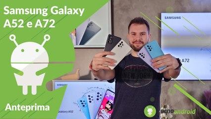 ANTEPRIMA Samsung Galaxy A52 e A72, i top di gamma diventano accessibili!