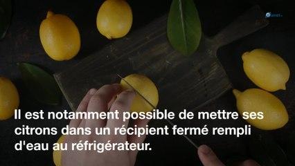 Cuisine : l'astuce pour conserver vos citrons plus de 3 mois !