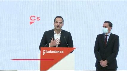 Bal toma el relevo de Aguado y optará a las primarias de Cs para Madrid
