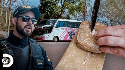 Substâncias ilícitas dentro de ônibus   Operação Fronteira: América do Sul   Discovery Brasil