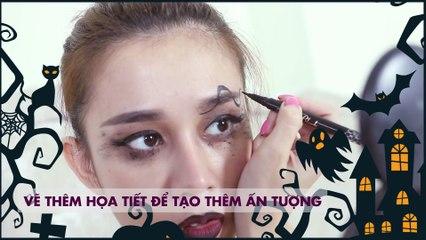 Make up A To Z 9 - Hoá Trang HalloWeen - Ngọc Thảo [ Hướng Dẫn Làm Đẹp ]