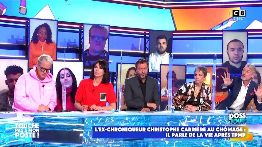 Après avoir révélé être au chômage depuis qu'il n'est plus à TPMP , Cyril Hanouna propose en direct à Christophe Carrière de revenir dans l'émission le vendredi