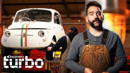 Garage Goblin se abre paso a la era eléctrica con este Fiat 500 | Garaje Goblin | Discovery Turbo