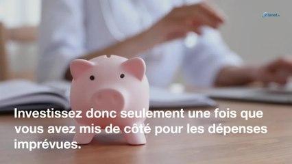 Investissement : le montant que vous ne devriez jamais dépasser pour votre épargne
