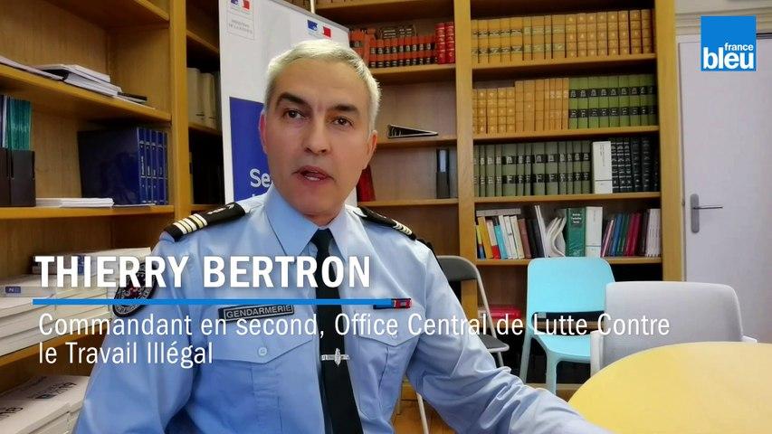 Travail dissimule dans le transport, Thierry Bertron