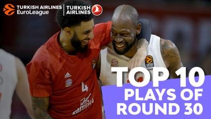 Regular Season, Round 30: Top 10 plays