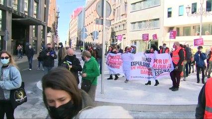 Manifestaciones en varias ciudades reivindican el derecho a una vivienda