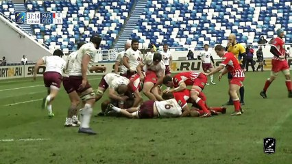 HIGHLIGHTS - RUSSIA - GEORGIA - RUGBY EUROPE CHAMPIONSHIP 2021 -