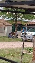 Vecinos atacaron con piedras a policías en Sáenz Peña