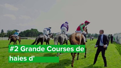Top 3 Courses d'obstacle