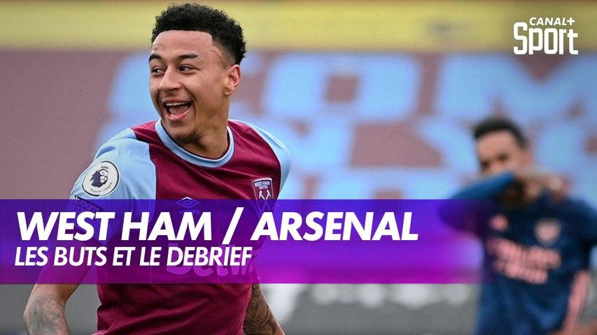 Les buts de West Ham / Arsenal - Premier League J29