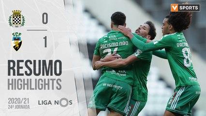 Highlights: Boavista 0-1 SC Farense (Liga 20/21 #24)
