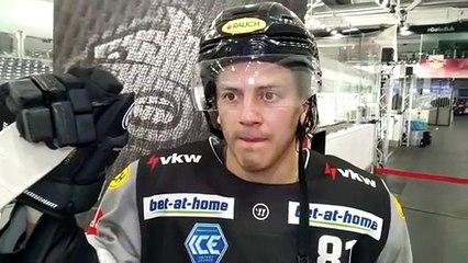 Ramon Schnetzer nach der Niederlage in Salzburg
