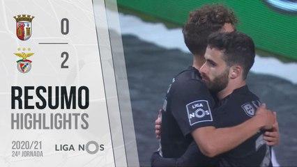 Highlights: SC Braga 0-2 Benfica (Liga 20/21 #24)