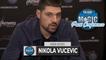 Nikola Vucevic Postgame Interview | Celtics vs Magic