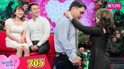 Bạn Muốn Hẹn Hò - Tập 705: Nàng giám đốc U30 xinh như hoa hậu sung sướng ra mặt khi gặp được chàng Long An trùng khớp 100%