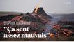 L'éruption d'un volcan en Islande attire des centaines de touristes