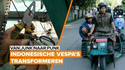 Extreme DIYers: Jakarta's Vespa Sensatie